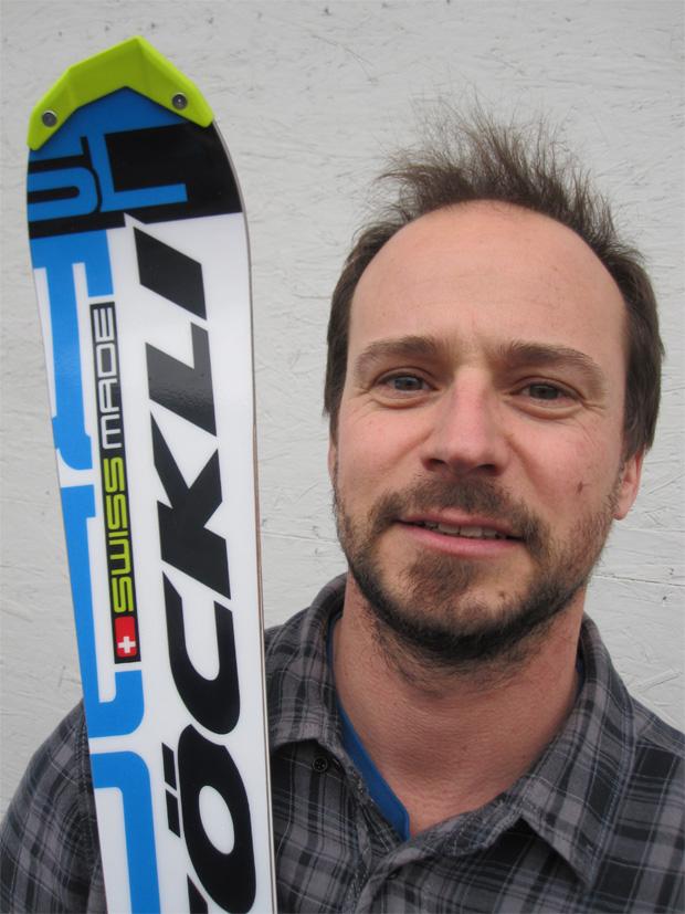 Ski-Entwickler Mathieu Fauve (Foto: www.stoeckli.ch)