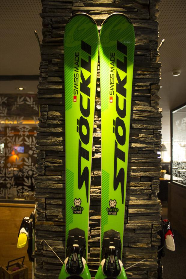 Der Turtle Shell Ski (Foto: www.stoeckli.ch)