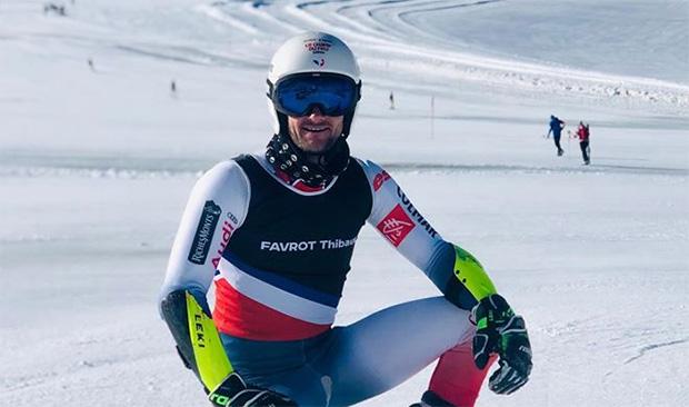 Franzose Thibaut Favrot will auch im Torlauf Fuß fassen. (Foto: © Thibaut Favrot / Facebook)