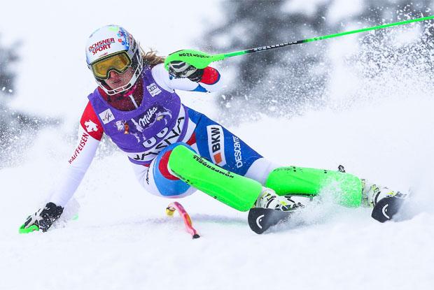 © Kraft Foods / Denise Feierabend: Die alpine Allrounderin auf höchstem Niveau
