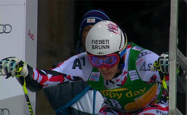 Manuel Feller beweist in Alta Badia erneut sein Potenzial