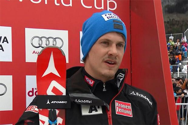 Tiroler Manuel Feller hat beim Riesentorlauf in Coronet Peak die Nase vorn