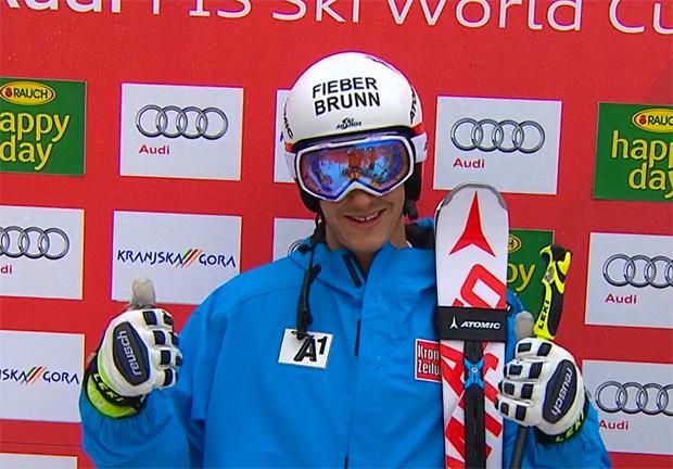 Platz 6 und 7: Manuel Feller etabliert sich an der GS-Spitze