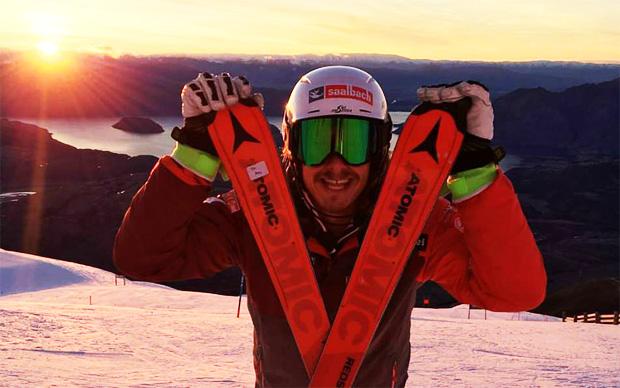 Zweites Rennen - erster Sieg: Neuseeland war für Manuel Feller eine Reise wert. (Foto: Manuel Feller / privat)