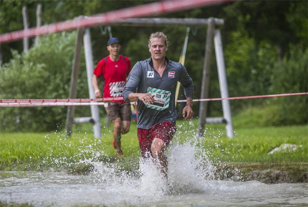 Manuel Feller stellt sich am 14. Juli  der Herausforderung Fisherman`s Friend StrongmanRun. (Fotocredit: Wildbild)