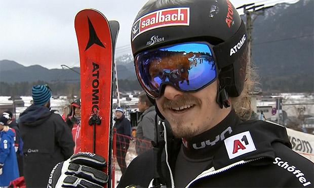 Manuel Feller wurde beim Riesentorlauf in Garmisch-Partenkirchen als bester ÖSV-Rennläufer 28.