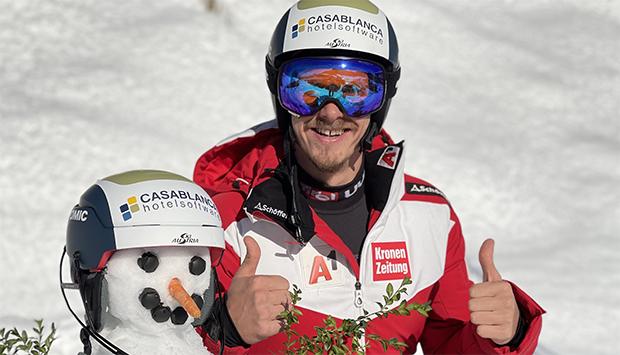 Neue Tiroler Partnerschaft für Manuel Feller (Foto: © Manuel Feller / privat)