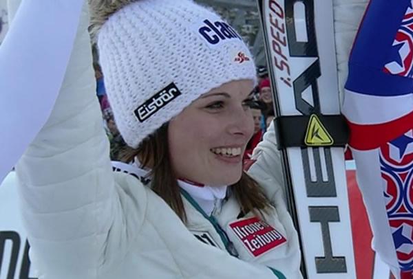 Erster Weltcupsieg für Anna Fenninger in Lienz