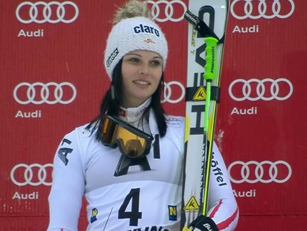 Anna Fenninger gewinnt Riesenslalom am Semmering