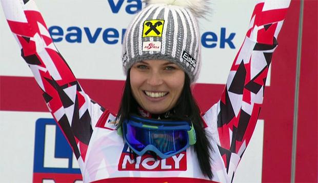 SKI WM 2015: Anna Fenninger ist Super G Weltmeisterin