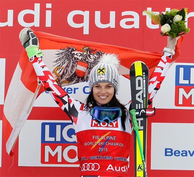 © HEAD / SKI WM 2015: WM-Gold im Super-G für Anna Fenninger