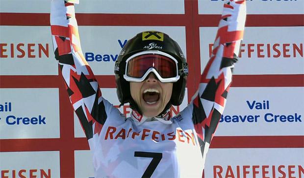 Anna Fenninger ist Riesenslalom-Weltmeisterin 2015