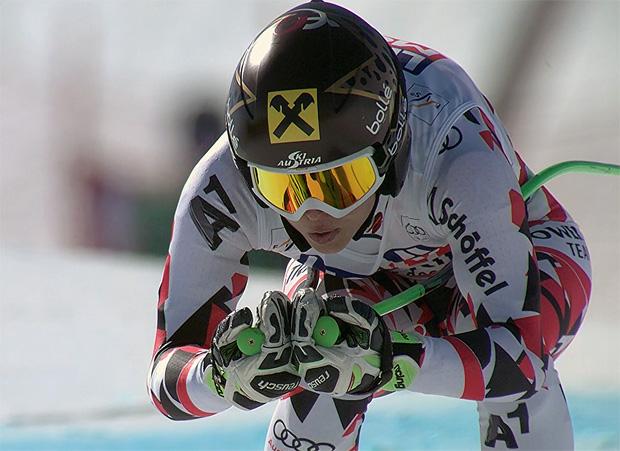 Anna Fenninger baut Weltcupführung auf 32 Punkte aus