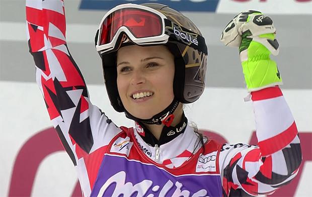 Gesamtweltcupsiegerin 2014/15 - Anna Fenninger (AUT)