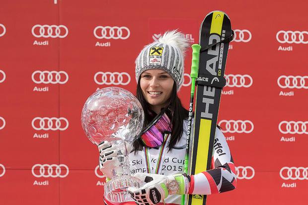 © HEAD / Gesamtweltcupsiegerin Anna Fenninger
