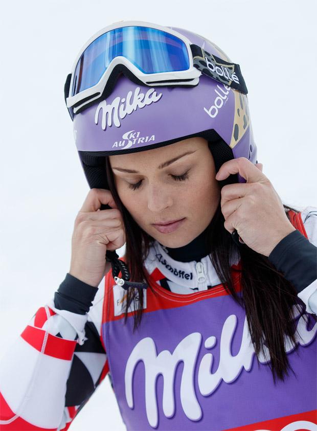 © Kraft Foods / Schwere Knieverletzung bringt vorzeitiges Saisonende für Anna Fenninger mit sich
