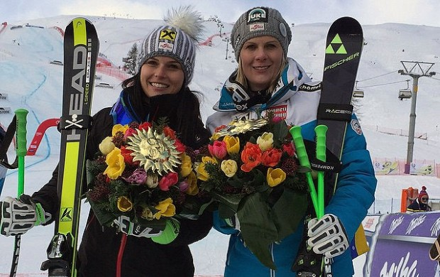 © ÖSV Ladies Skiteam Austria / Anna Fenninger und Nicole Hosp