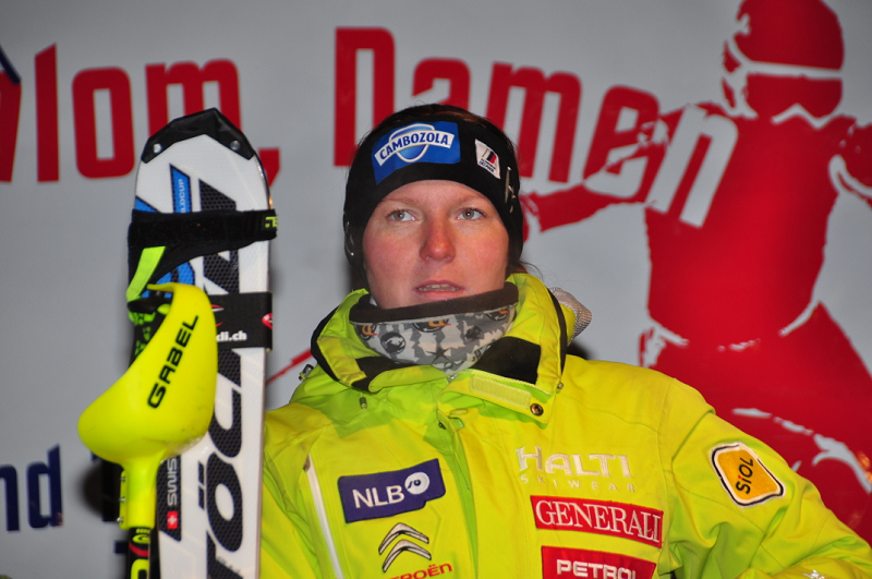 © Christian Einecke (CEPIX) / Marusa Ferk gewann den zweiten Europacup Slalom am Samstag in Bad Wiessee