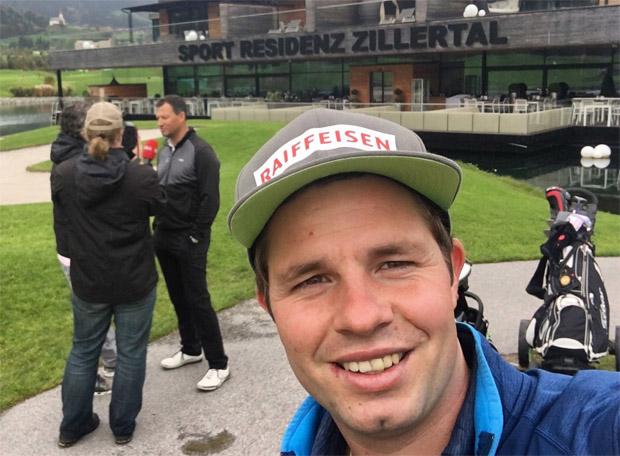 Nicht nur die DSV Rennläufer fühlen sich in der Sportresidenz Zillertal****S bei Martha Schultz wohl. Auch Abfahrtsweltmeister Beat Feuz spielt hier gerne eine Runde Golf.
