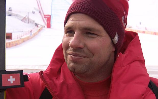 Abfahrtsweltmeister Beat Feuz ist bereit für die Olympia-Abfahrt 2018