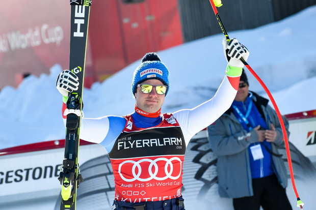 Weltcupfinale 2018: Beat Feuz gegen Aksel Lund Svindal im Kampf um Abfahrts-Kristall (Foto: © HEAD / Jonas Ericsson/Agence Zoom)