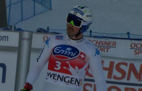 Der Südtiroler Peter Fill erzielte am Mittwoch Bestzeit