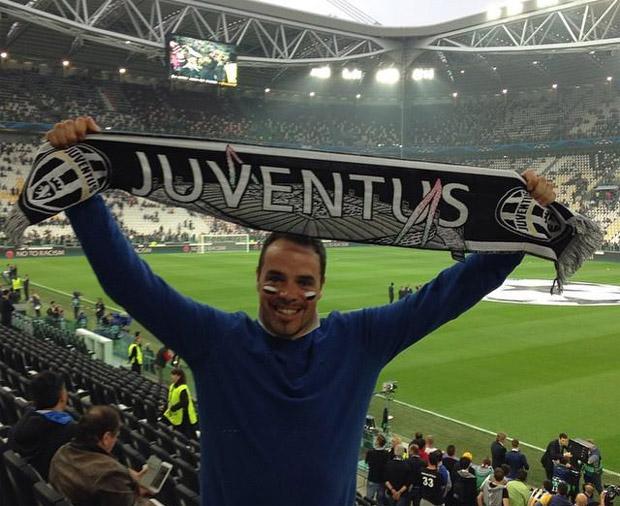 Peter Fill ist eigentlich ein glühender Juventus Fan. (Foto: Peter Fill / facebook)