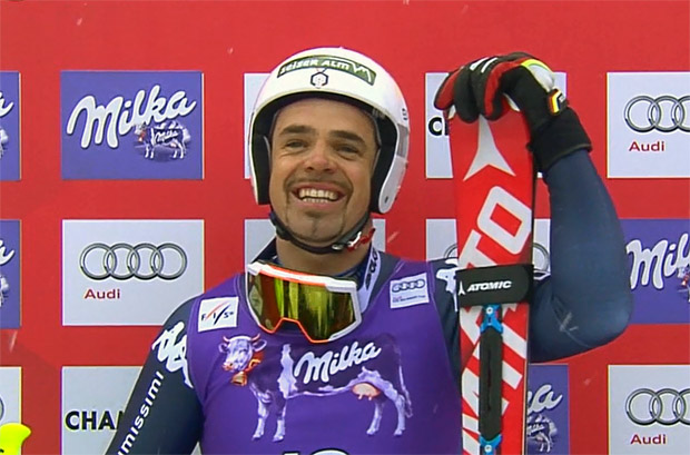 Peter Fill hat in Chamonix das rote Trikot im Visier