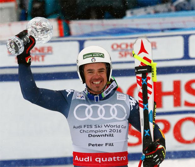 © Archivio FISI / Abfahrsweltcupsieger Peter Fill (ITA) (Giova Auletta/Pentaphoto)