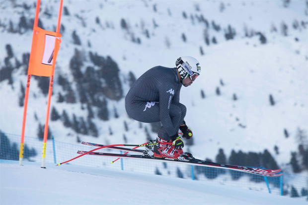 Peter Fill beim Training (Foto: S. Caterina FIS Alpine Ski World Cup)