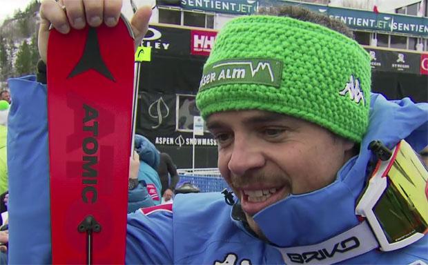 Peter Fill ist für die letzte Saisonabfahrt in Aspen bereit