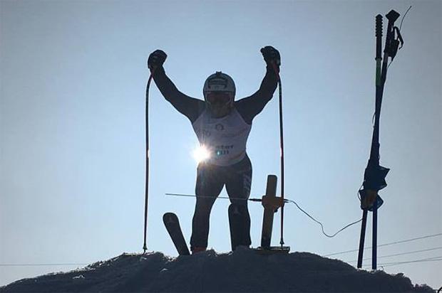 Italiens Ski-Herren verabschieden sich nach Südamerika (Foto: Peter Fill / Facebook)