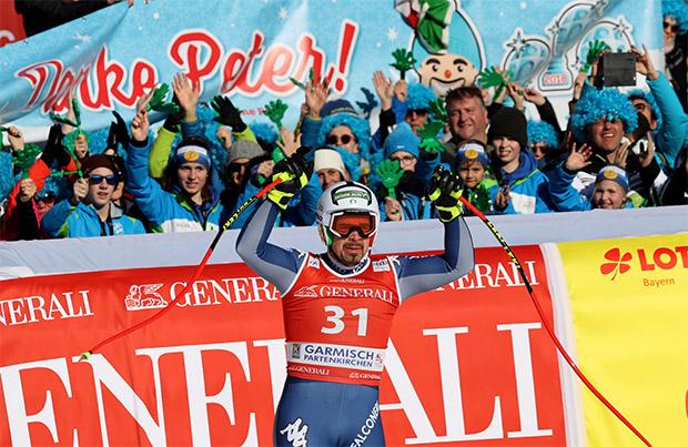 "Peter Fill sagt: ""Servus!"" – Und wir sagen: ""Danke, Peter!"" (Foto: © Archivio FISI/ Alessandro Trovati/Pentaphoto)"