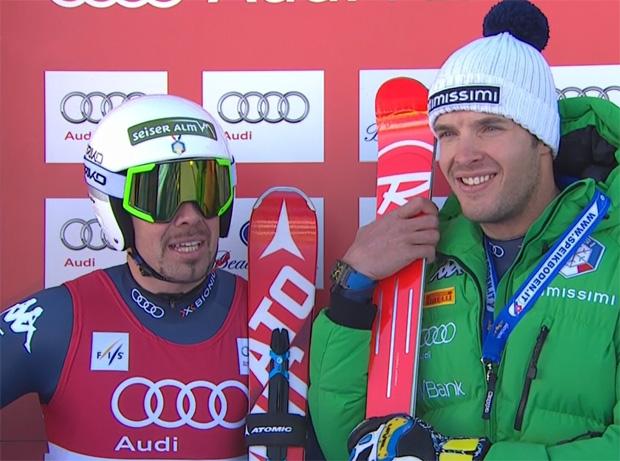 Peter Fill und Christof Innerhofer wollen auch am Samstag beim Super-G in Beaver Creek Weltcuppunkte sammeln