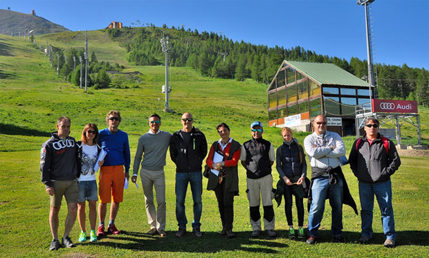 Der Weltskiverband hat die Anlagen in Sestriere begutachtet (Foto: FISI.org)