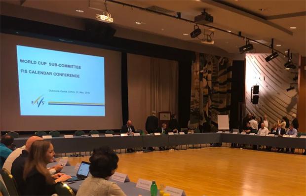 Aktuelle Informationen zur FIS-Kalenderkonferenz in Dubrovnik (© Foto: FIS-Ski.com)