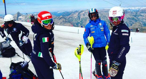 Wind und hohe Temperaturen stoppen Marta Bassino und Co. (Foto: FISI.org)
