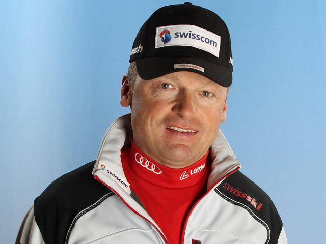 © Manzoni/NordicFocus: Schweizer Damen Cheftrainer Hans Flatscher