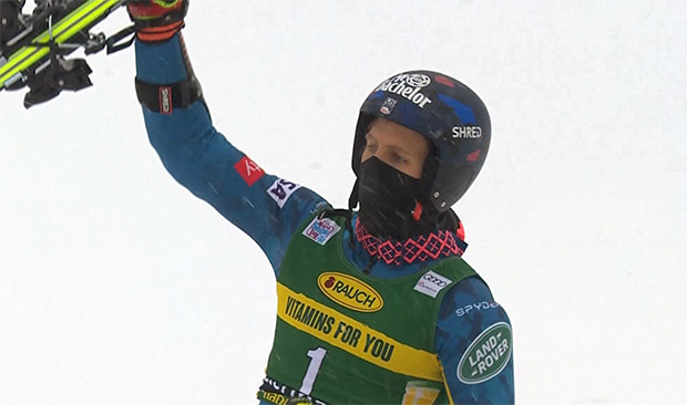 HEAD Rückblick: Tommy Ford - mit neuem Ski in Santa Caterina am Podium