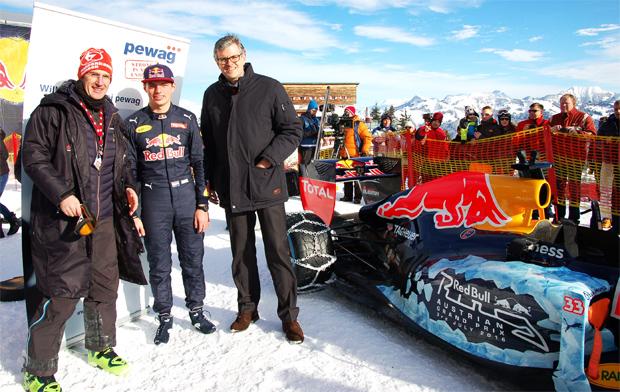 © hahnenkamm.com  /  F1-Motorluft am Hahnenkamm