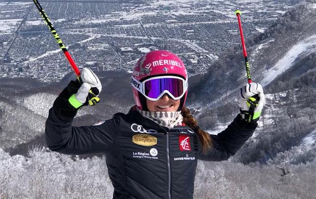 Josephine Forni gewinnt EC-Slalom in Soldeu (Foto: Josephine Forni / facebook)  ..........