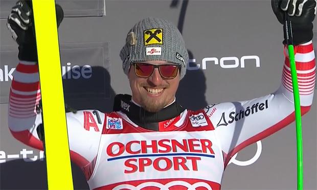Max Franz gewinnt Abfahrt in Lake Louise