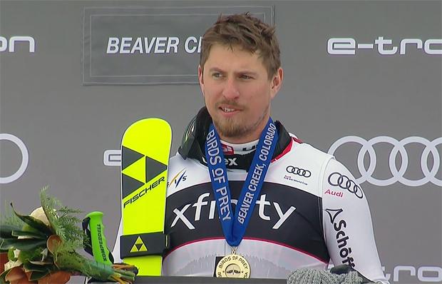 Max Franz freut sich über seinen zweiten Saisonsieg.