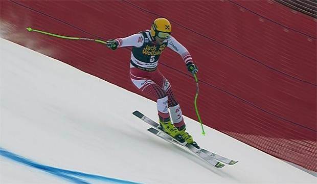 Max Franz dominiert zweites Abfahrtstraining in Gröden