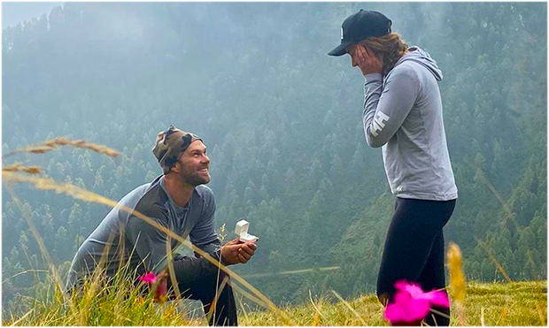Travis Ganong und Marie-Michèle Gagnon werden heiraten. (Foto: © Travis Ganong / Instagram)
