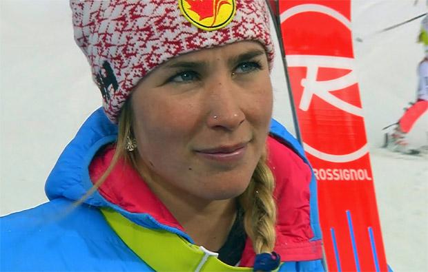 Marie-Michéle Gagnon gewinnt Alpine Kombination in Soldeu