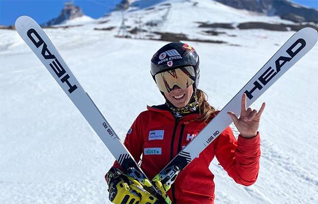 Marie-Michèle Gagnon freut sich auf die Olympia Saison 2021/22 (Foto: © Marie-Michèle Gagnon / Facebook)