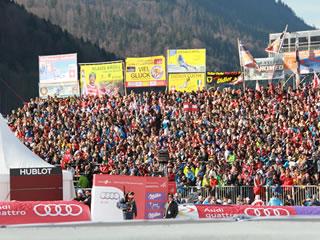 Garmisch Partenkirchen freut sich auf den Skiweltcup der Herren an diesem Wochenende