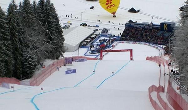 LIVE: 2. Abfahrtstraining der Damen in Garmisch Partenkirchen
