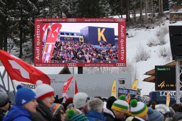 LIVE: 1. Abfahrtstraining der Damen in Garmisch Partenkirchen